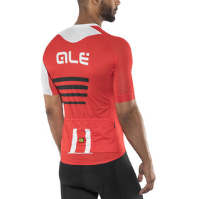 Alé Cycling R-EV1 Piuma Short Sleeve Jersey Men red-white